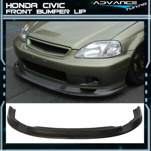 For Jdm First Molding 99 00 Honda Civic Ek Front Bumper Lip Urethane