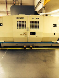 Okuma Lt15 sbm 2001 Two Spindles With Live Tooling