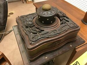 Exceptional Ornate Carved Victorian Sewing Box