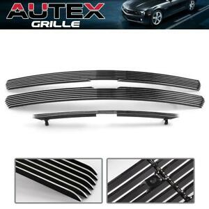 3pcs Chrome Billet Grille Combo Fit 00 06 Chevy Tahoe suburban 1999 02 Silverado