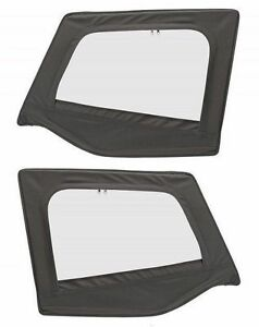 1988 1995 Jeep Wrangler Replacement Upper Door Skins Driver Passenger Black D