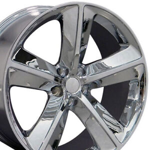 20 Rims Fit Dodge Charger Challenger Srt Chrome Wheels 2357