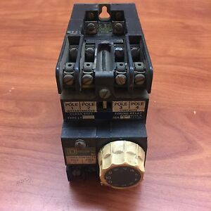 Square D 8501 Lo 40 Ser A Gm Timed Timer Control Relay Delay