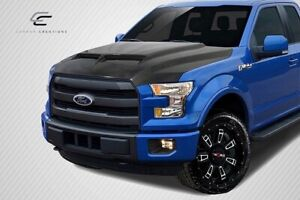 Carbon Creations Gt500 Hood 1 Piece For F 150 Ford 15 20 Ed113649
