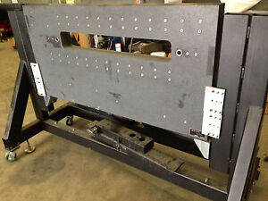 Starrett Tru stone Granite Surface Plate 63 X 32 X 4 With Stand And Wheels