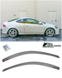 For 02 06 Acura Rsx Dc5 Smoke Tinted Side Window Visors Rain Guards Deflectors