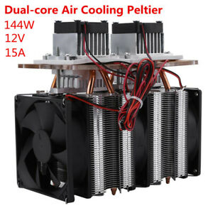 144w Dual chip Semiconductor Peltier Cooler Air Cooling Dehumidification Ce