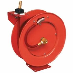 Lincoln Industrial 1 2in X 50ft Assembled Air Hose Reel Lni83754 New