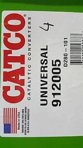 Catco 912005 Obii Catalytic Converter California Approved Certified Usa