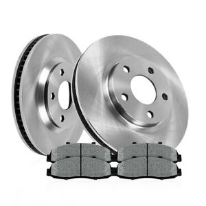 Front Brake Rotors And Metallic Pad Chevy Equinox Xl7 Pontiac Torrent Saturn Vue