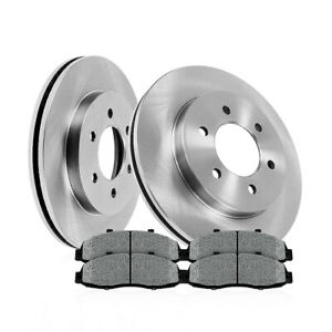 Front 350mm Brake Rotors And Metallic Pads F 150 Expedition Navigator Raptor 4wd