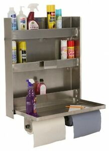 Garage Organizer Rack Cabinet Wall Tool 30 Shelf Shelving Aluminum Metal 3 Tier