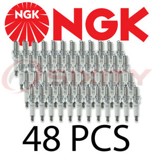 New Set Of 48 Ngk R5671a 8 V Power Racing Turbo Nitrous Spark Plugs Pack 4554