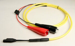 70064m Power Cable Sae To Alligator Clips For Battery