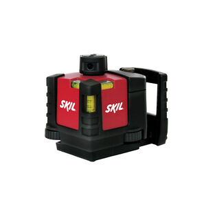 100 Indoor 360 Degree Rotating Beam Rotary Laser Level Plumb Square Layout Tool