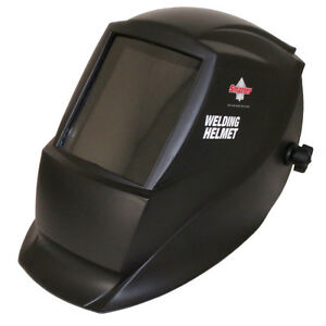 Lightweight Black Matte Fixed Shade Welding Helmet Headgear Neck Head Protection