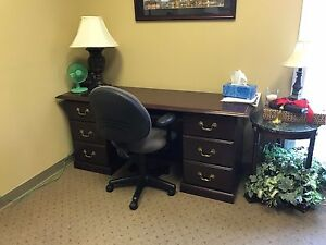Used Office Furniture Desks And Credenzas Good Condition