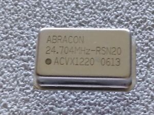 Abracon Voltage controlled Crystal Oscillators Acvx1220 24 704mhz Lots Of 50