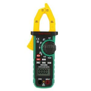 Mastech Ms2109a Digital Ac dc Clamp Meter Multimeter Frequency Max min Q0j5