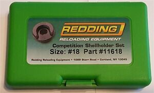 11618 REDDING COMPETITION SHELLHOLDER SET (338 WEATHERBY MAG) - NEW - FREE SHIP