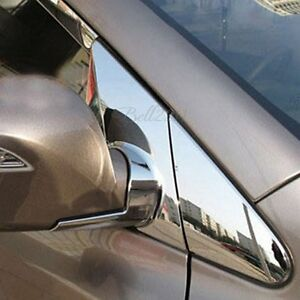 Chrome Side Rearview Mirror Bracket Cover For Hyundai Tucson Ix35 2010 2011 2012