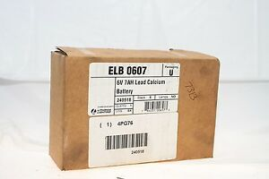 Lithonia Lighting Elb 0607 Emergency Light Battery New In Factory Seal Box g16