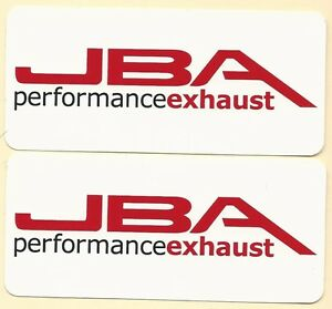 Jba Racing Decals Sticker 5 Inches Long Size New Set Of 2 Vinyl Ford Mustang