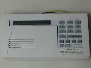 Bosch Security Systems D1255 Series Vfd Keypad Keyboard Fire Alarm Control