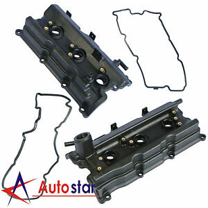 Left Right Engine Valve Covers For Nissan 350z Infiniti Fx35 G35 M35 3 5l V6