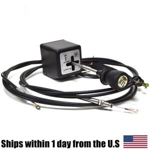 Snow Plow Joystick Controller W Cables 1314000 For Western Fisher Snowplow