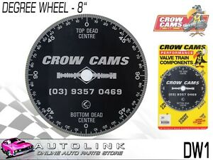 Crow Cams 8 Camshaft Degree Wheel To Dial In Camshafts Dw1
