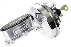 67 70 Ford Mustang Polished Wilwood Master Cylinder Chrome Power Brake Booster