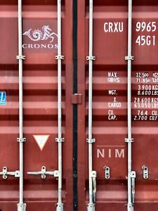 20 Shipping Container Wind Water Tight