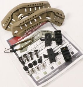 NEW Ops-Core ACH-ARC Rail Kit w Bungees TAN OpsCore MICH ACH Model 25-99-401