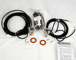 Soundoff Signal Undercover Led Lens Light Kit Eluckv01 White 2 Head Vertical New
