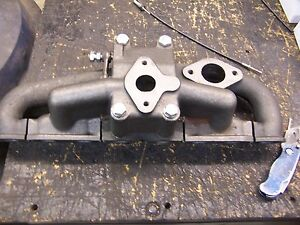 Farmall F 12 14 Intake Exhaust Manifold New Replacment 3197d 3196d