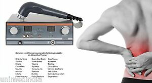 Ultrasound Therapy Equipment Personal Use Pain Relief 1 Mhz With Program