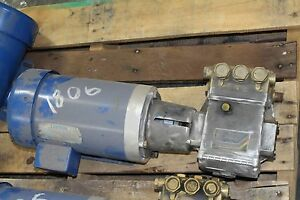General Pump T991 208 230v 460v Pressure Washer Pump