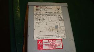 Cutler Hammer S29n11s01n Dry type Distribution Transformer 1 Kva