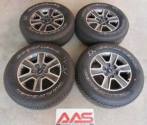 2015 2017 Ford F150 Fx4 18 Inch Takeoff Wheels And Tires Set No Tpms Sensors