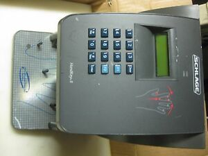 Schlage Handkey 2 Hk ii Ir Recognition Systems Electric Biometric Reader