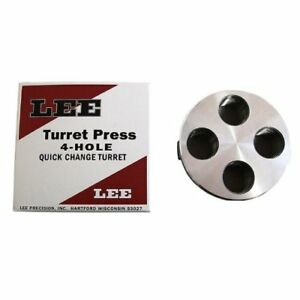 Lee Precision 4 Hole Turret (Silver)