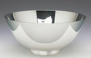 Stunning Tiffany Co Sterling Silver Revere Bowl 9