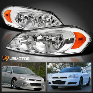 2006 2013 Chevy Impala 06 07 Monte Carlo Replacement Headlights Lamps Left right