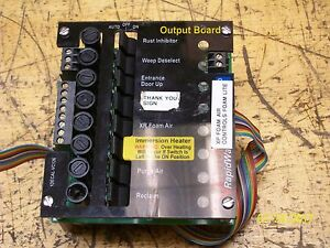 Vector Rapidwash Output Circuit Board 1decal vc126