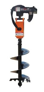 Nc200 2 Hex Earth Auger W planetary Drive For Skid Steer bobcat jd kubota gehl