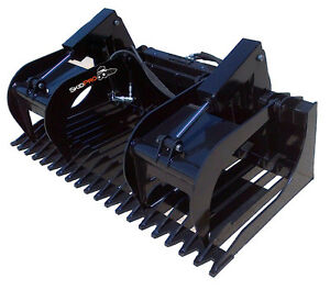 72 Extreme Duty Rock Grapple Skid Steer Attachment Bobcat John Deere Gehl