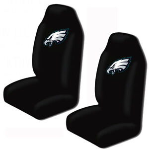 New Nfl Philadelphia Eagles 2 Front Universal Fit Car Truck Bucket Seat Covers