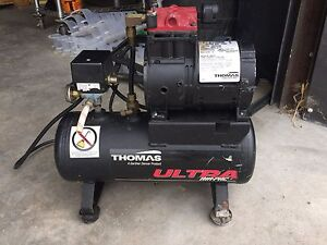 Thomas Ultra Air Compressor T 617hdn 80 Psi