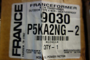 France Electric Sign Repair Parts 9030 P5ka2ng Outdoor Type 2 Neon Transformer